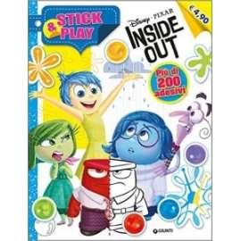 Libri WALT DISNEY - INSIDE OUT. STICK & PLAY
