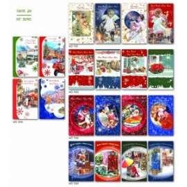 *OFFERTA Biglietti Natale FANTASIA BASIC conf.100pz