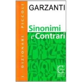Libri GARZANTI - SINONIMI E CONTRARI