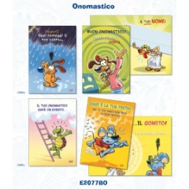 *OFFERTA BIGL.ONOMASTICO Smile Cards  conf.12pz