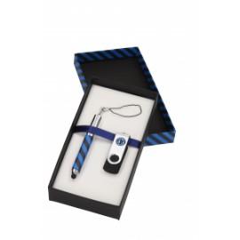 Calcio PARURE MIGNON TOUCH + USB 4GB NEROAZZURRO