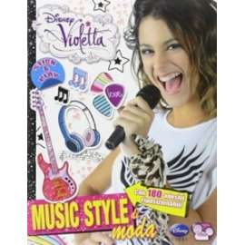 Libri WALT DISNEY - VIOLETTA. MUSIC STYLE DI MODA
