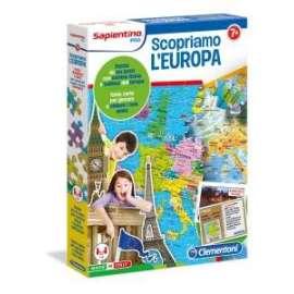 Giochi Sapientino SCOPRIAMO L EUROPA 7+