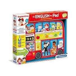 Giochi Sapientino MY ENGLISH BUS PAD