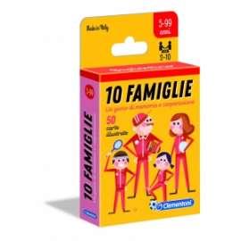 Giochi CARTE SAPIENTINO 10 FAMIGLIE