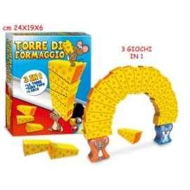 GIOCO DA TAVOLO TORRE DI FORMAGGIO