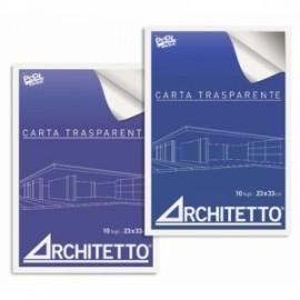 Blocchi Carta Trasparente Architetto