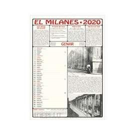 CALENDARIO EL MILANES 2020 c/volume omaggio