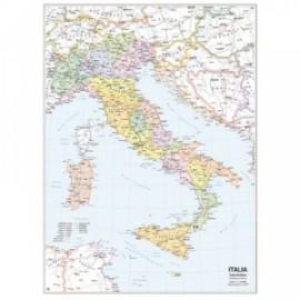 Carte Geografiche bifacciali