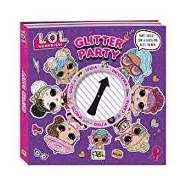 Libri PON PON - LOL SURPRISE glitter party