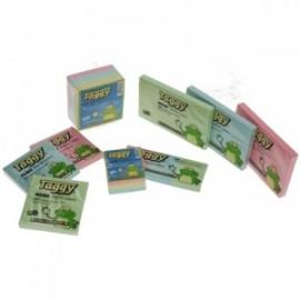 Blocco fogli adesivi Taggy pastel