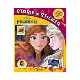 Libri WALT DISNEY - FROZEN storie in sticker
