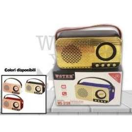 CASSA AUDIO RADIO ANTICA