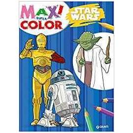 Libri W.DISNEY - STAR WARS maxi color