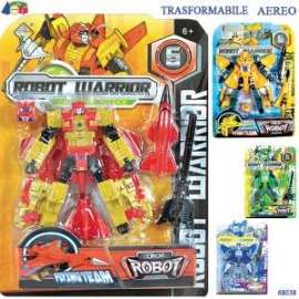 Giochi ROBOT TRASFORMABILE IN AEREO