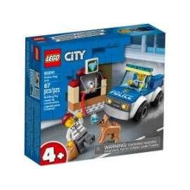 Giochi LEGO City - 60241 - UNITA' CINOFILA POLIZIA