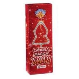 Party CANDELA MAGICA XMAS conf.10pz (15gr)