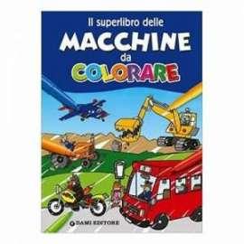 Libri DAMI EDITORE - DA COLORARE MACCHINE