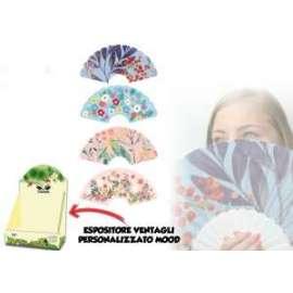 VENTAGLIO IN PLASTICA FLOWER