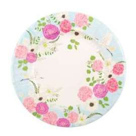 Party PIATTI diam.27cm SECRET GARDEN conf.8pz
