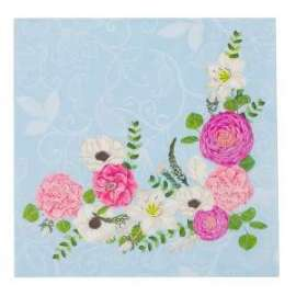 Party TOVAGLIOLI 33x33 SECRET GARDEN conf.16pz