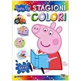 Libri PON PON - PEPPA PIG STAGIONI & COLORI