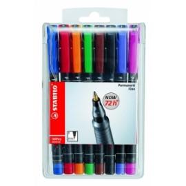 Marcatore indelebile STABILO® OHPen universal (fine) colori assortiti