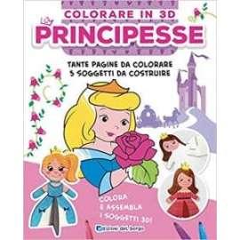 Libri ED. DEL BORGO - COLORARE IN 3D - Principesse
