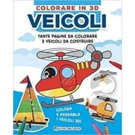 Libri ED. DEL BORGO - COLORARE IN 3D - Veicoli
