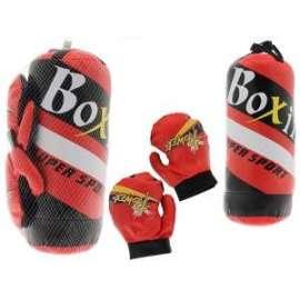 Giochi BOXING SET SACCO h.39cm E GUANTONI