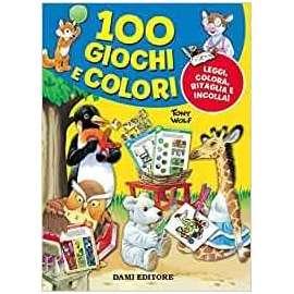 Libri DAMI EDITORE - 100 GIOCHI E COLORI