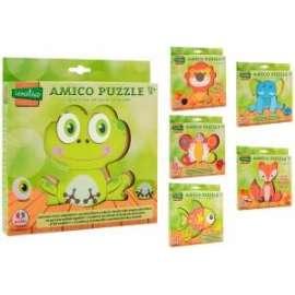 Giochi PUZZLE IN LEGNO ANIMALI ASSORTITI