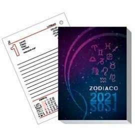Agende 2021 - Blocco tavolo Zodiaco 20-198 - Fto. 8,3x11,9