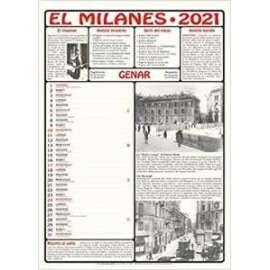 CALENDARIO EL MILANES 2021 c/volume omaggio
