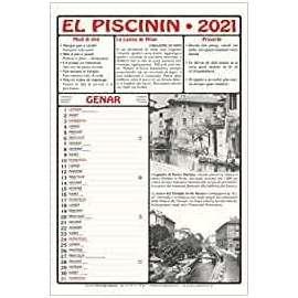 CALENDARIO EL PISCININ 2021 conf 2pz + /volume omaggio