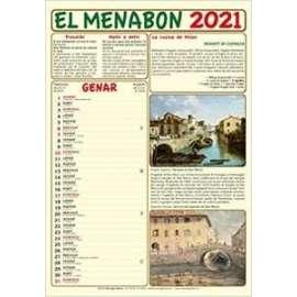 CALENDARIO EL MENABON 2021