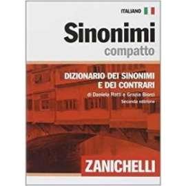 Libri - ZANICHELLI - DIZIONARIO DEI SINONIMI E CONTRARI