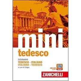 Libri - ZANICHELLI - DIZIONARIO MINI DI TEDESCO