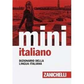 Libri - ZANICHELLI - DIZIONARIO MINI DI ITALIANO