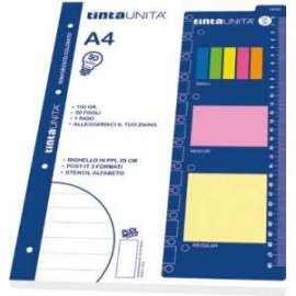RICAMBI 50 SPECIAL 5mm + STICKY NOTES 4 colori