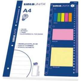 RICAMBI 50 SPECIAL 4MM + STICKY NOTES 4 colori