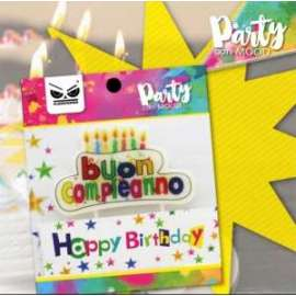 Party CANDELINA TORTA BUON COMPLEANNO
