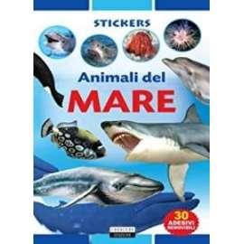 Libri ED.CRESCERE - STICKERS ANIMALI DEL MARE