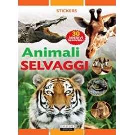 Libri ED.CRESCERE - STICKERS ANIMALI SELVAGGI