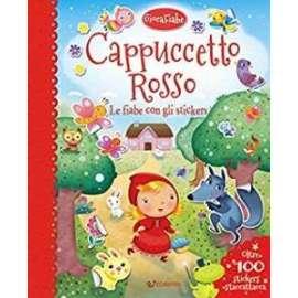Libri EDICART - Stickers CAPPUCCETTO ROSSO