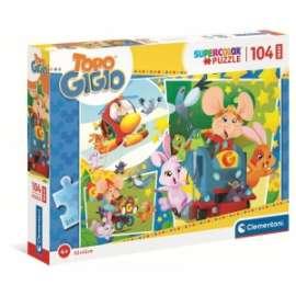 Giochi PUZZLE - MAXI 104 - TOPO GIGIO