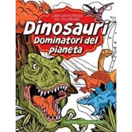 Libri NEWTON COMPTON - ANTISTRESS DA COLORARE dinosauri