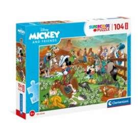 Giochi PUZZLE - MAXI 104 - MICKEY AND FRIENDS