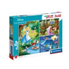 Giochi PUZZLE - 3X48 - DISNEY CLASSIC