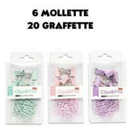 MOLLETTE / GRAFFETTE COLORATE 20pz